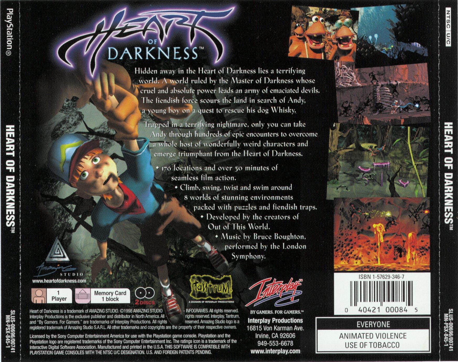 heart of darkness 2 essay