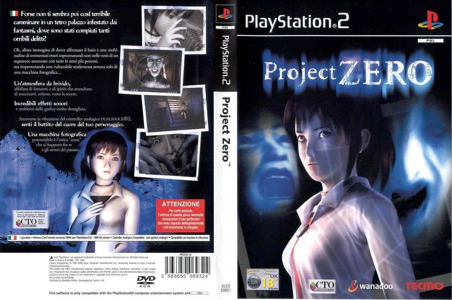 Project zero the movie